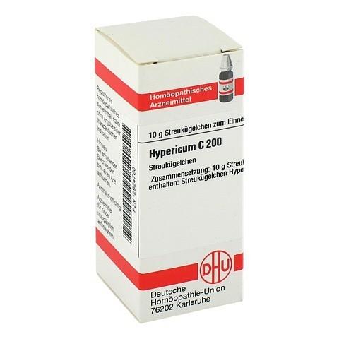 HYPERICUM C 200 Globuli 10 Gramm N1