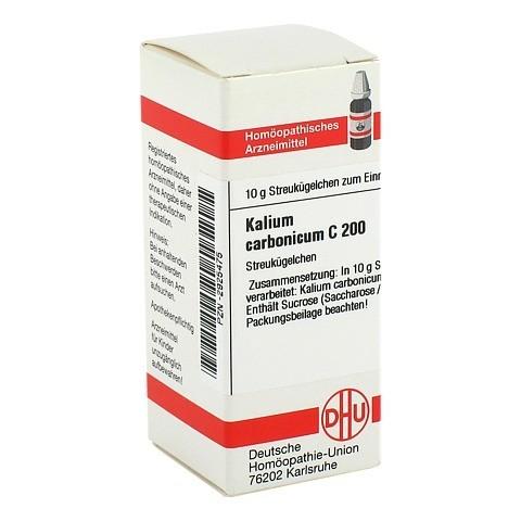 KALIUM CARBONICUM C 200 Globuli 10 Gramm N1