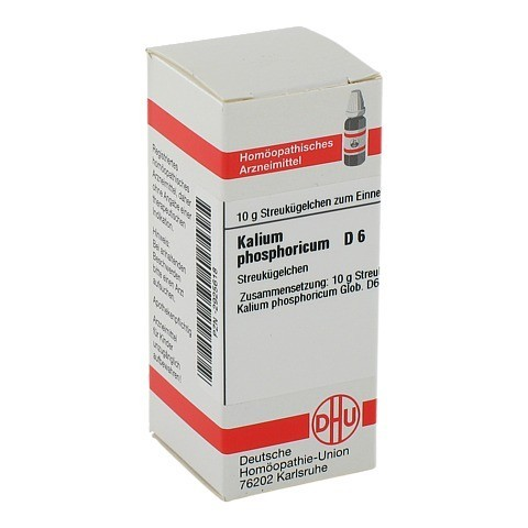 KALIUM PHOSPHORICUM D 6 Globuli 10 Gramm N1
