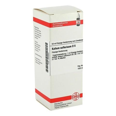 KALIUM SULFURICUM D 6 Dilution 50 Milliliter N1