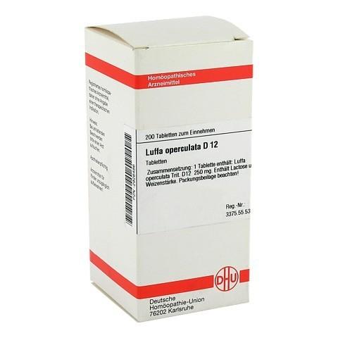 LUFFA OPERCULATA D 12 Tabletten 200 Stück N2