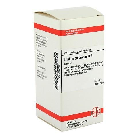 LITHIUM CHLORATUM D 6 Tabletten 200 Stück