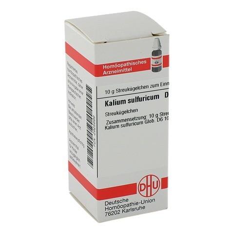 KALIUM SULFURICUM D 6 Globuli 10 Gramm N1