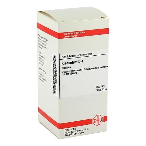 KREOSOTUM D 4 Tabletten 200 Stück N2