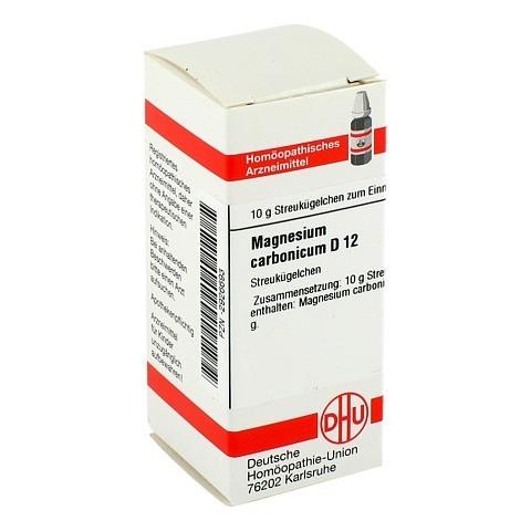MAGNESIUM CARBONICUM D 12 Globuli 10 Gramm N1