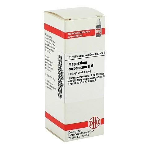 MAGNESIUM CARBONICUM D 6 Dilution 20 Milliliter N1