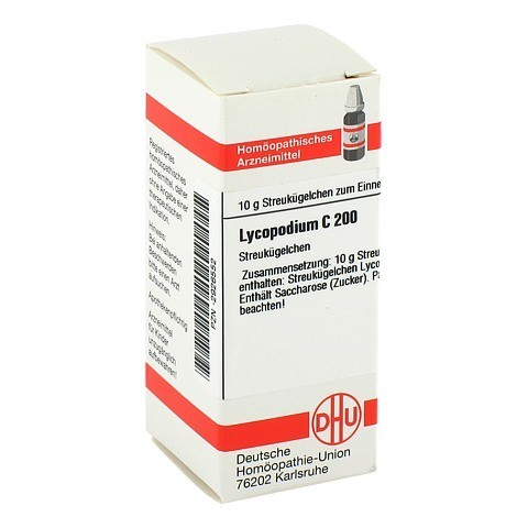 LYCOPODIUM C 200 Globuli 10 Gramm N1