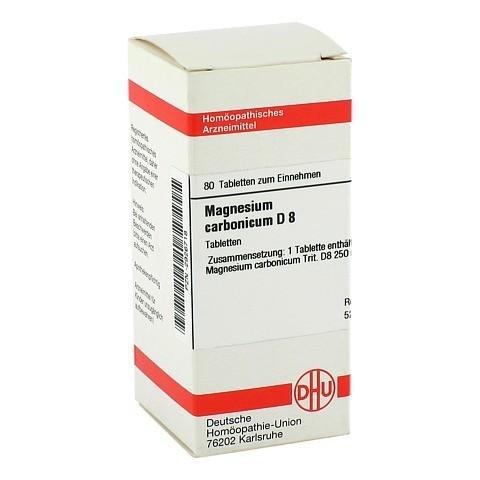MAGNESIUM CARBONICUM D 8 Tabletten 80 Stück N1