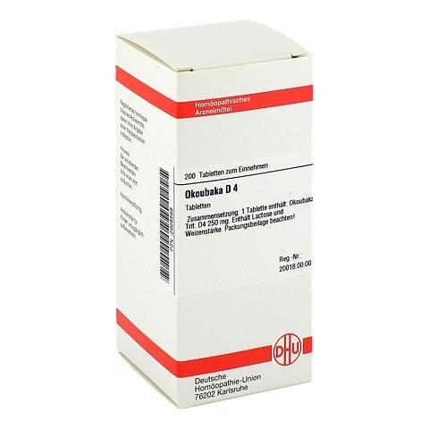 OKOUBAKA D 4 Tabletten 200 Stück N2