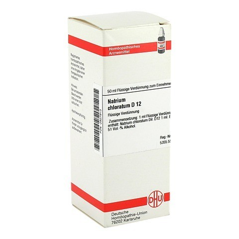 NATRIUM CHLORATUM D 12 Dilution 50 Milliliter N1