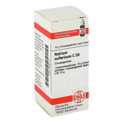 NATRIUM SULFURICUM C 30 Globuli 10 Gramm N1