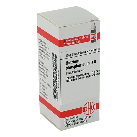 NATRIUM PHOSPHORICUM D 6 Globuli 10 Gramm N1