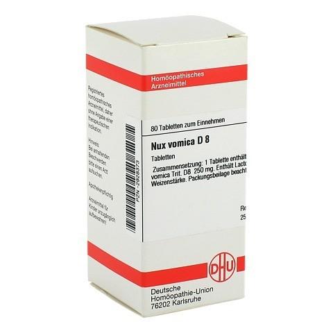 NUX VOMICA D 8 Tabletten 80 Stück N1