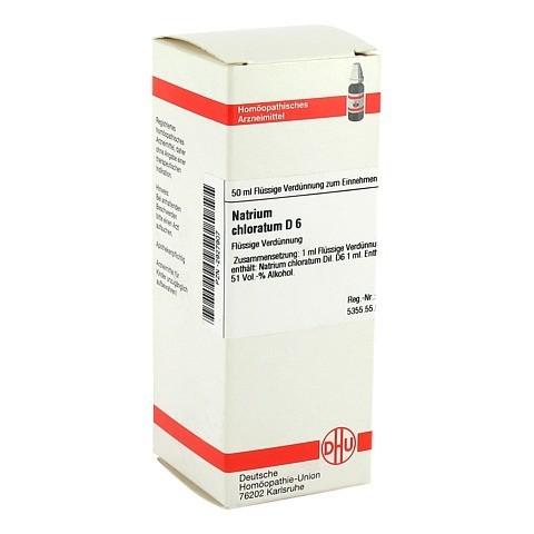 NATRIUM CHLORATUM D 6 Dilution 50 Milliliter N1