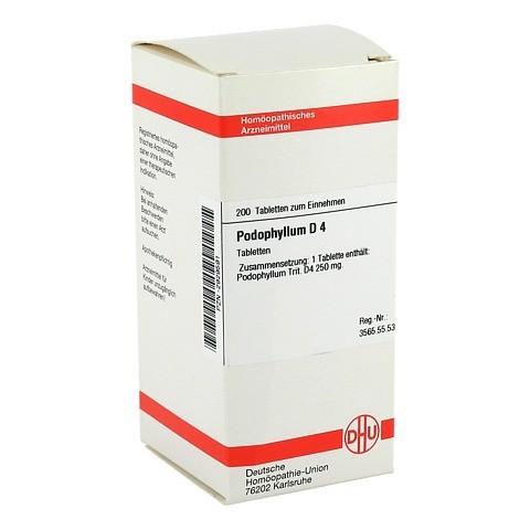 PODOPHYLLUM D 4 Tabletten 200 Stück N2