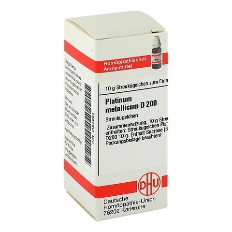 PLATINUM METALLICUM D 200 Globuli 10 Gramm N1