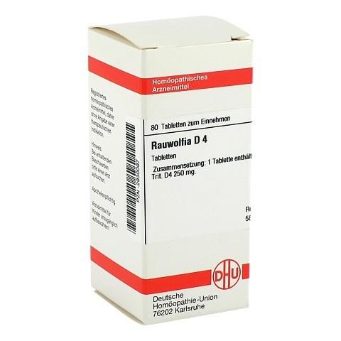 RAUWOLFIA D 4 Tabletten 80 Stück N1