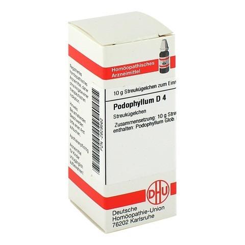 PODOPHYLLUM D 4 Globuli 10 Gramm N1