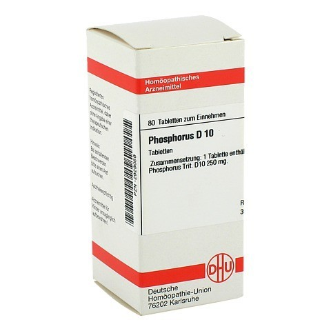 PHOSPHORUS D 10 Tabletten 80 Stück N1