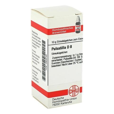 PULSATILLA D 8 Globuli 10 Gramm N1