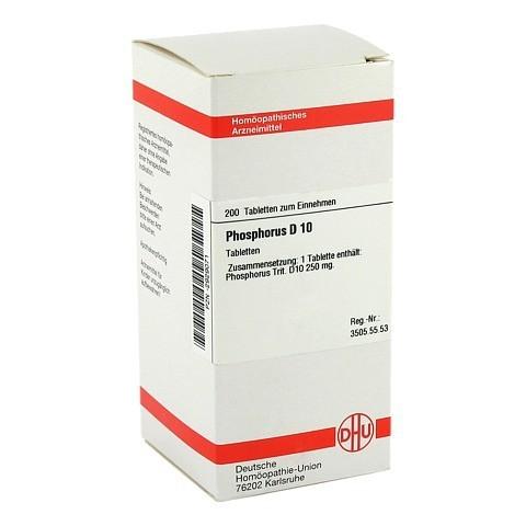 PHOSPHORUS D 10 Tabletten 200 Stück N2