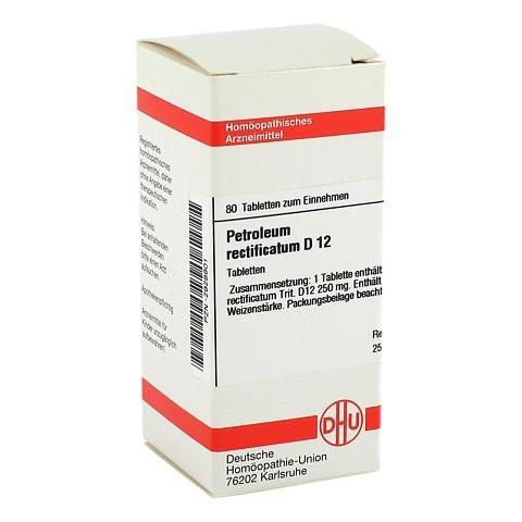 PETROLEUM RECTIFICATUM D 12 Tabletten 80 Stück N1
