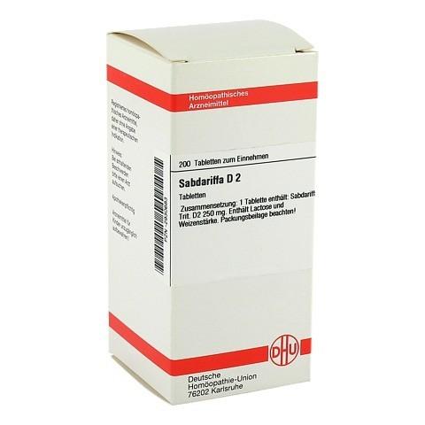 SABDARIFFA D 2 Tabletten 200 Stück N2
