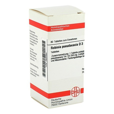 ROBINIA PSEUDACACIA D 3 Tabletten 80 Stück N1