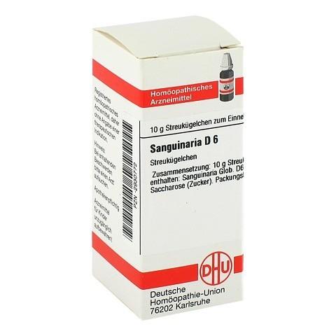 SANGUINARIA D 6 Globuli 10 Gramm N1