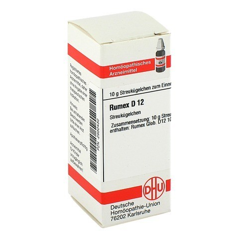 RUMEX D 12 Globuli 10 Gramm N1