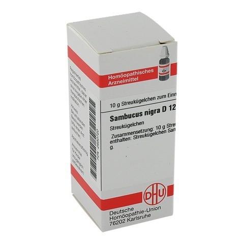 SAMBUCUS NIGRA D 12 Globuli 10 Gramm N1