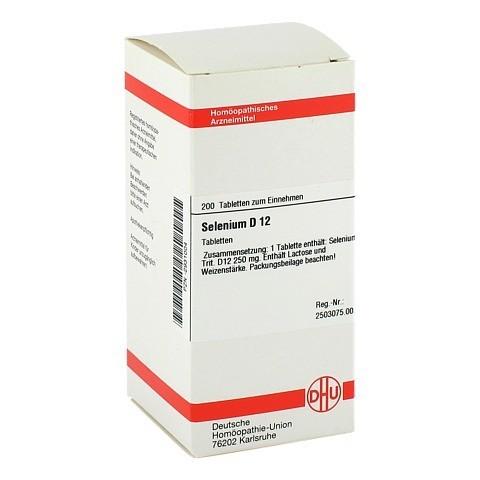 SELENIUM D 12 Tabletten 200 Stück N2