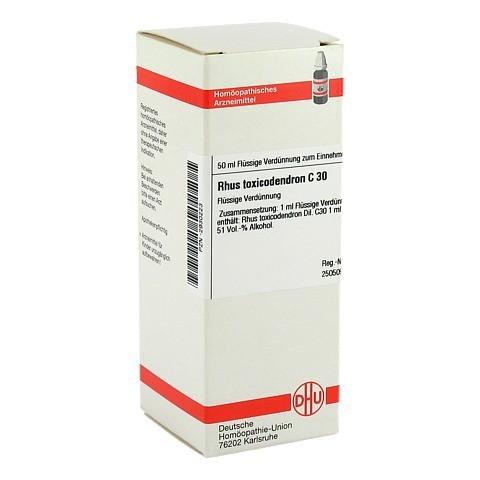 RHUS TOXICODENDRON C 30 Dilution 50 Milliliter