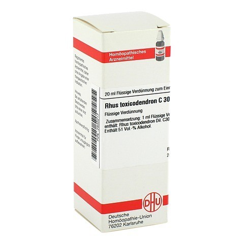 RHUS TOXICODENDRON C 30 Dilution 20 Milliliter N1