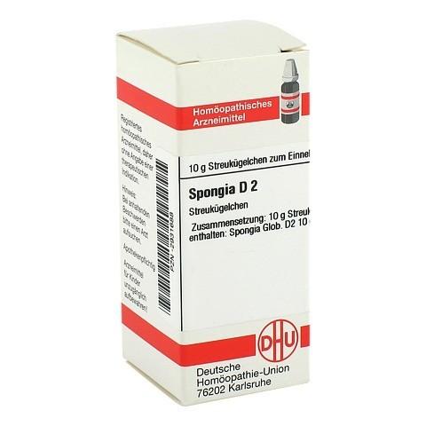 SPONGIA D 2 Globuli 10 Gramm N1