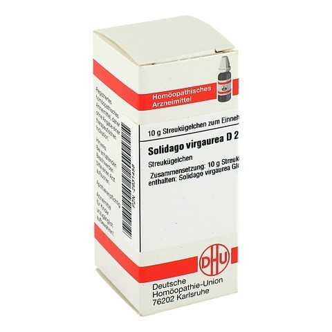SOLIDAGO VIRGAUREA D 2 Globuli 10 Gramm N1