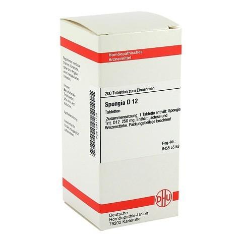 SPONGIA D 12 Tabletten 200 Stück N2