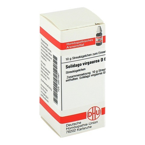 SOLIDAGO VIRGAUREA D 6 Globuli 10 Gramm N1