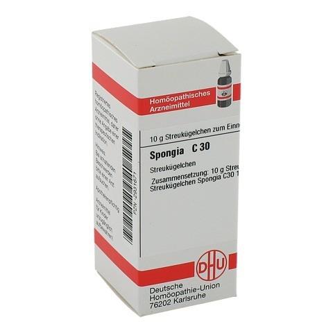 SPONGIA C 30 Globuli 10 Gramm N1