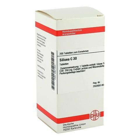 SILICEA C 30 Tabletten 200 Stück
