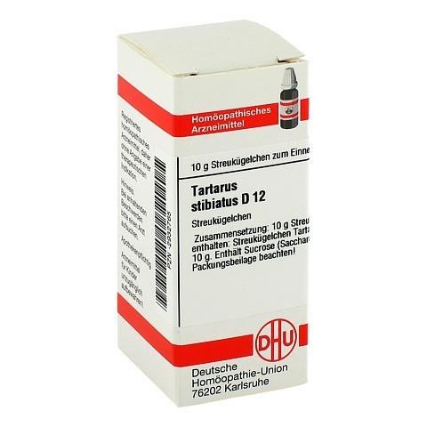 TARTARUS STIBIATUS D 12 Globuli 10 Gramm N1