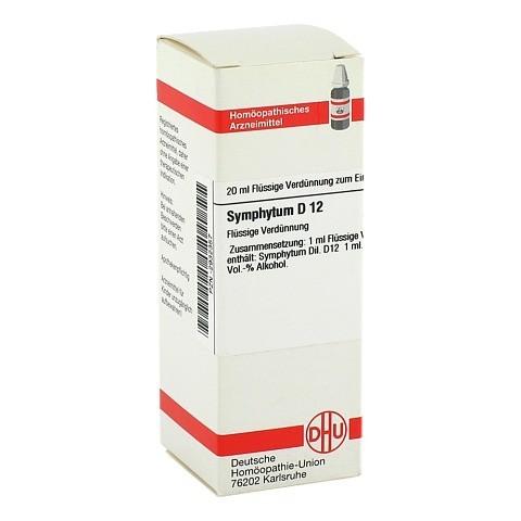SYMPHYTUM D 12 Dilution 20 Milliliter N1