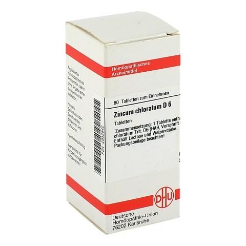 ZINCUM CHLORATUM D 6 Tabletten 80 Stück N1