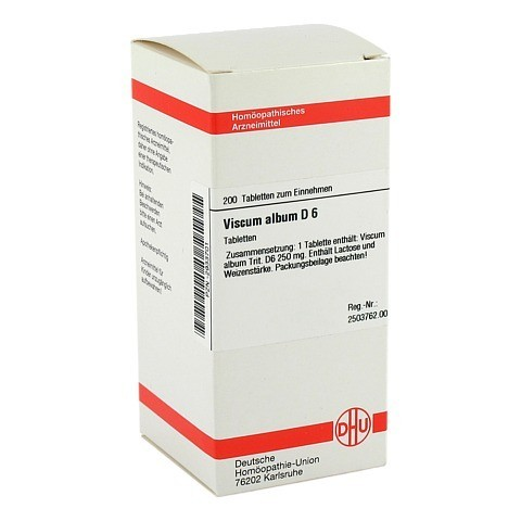 VISCUM ALBUM D 6 Tabletten 200 Stück N2