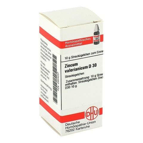ZINCUM VALERIANICUM D 30 Globuli 10 Gramm N1