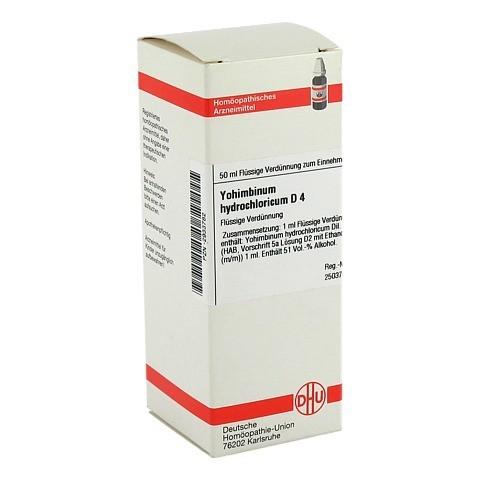 YOHIMBINUM HYDROCHLORICUM D 4 Dilution 50 Milliliter N1