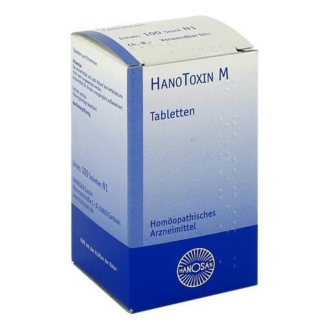 HANOTOXIN M Tabletten 100 Stück N1