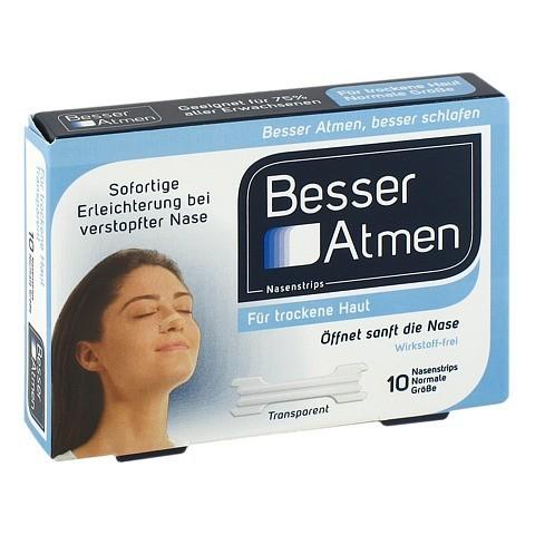 Besser Atmen Nasenstrips 10 Stück