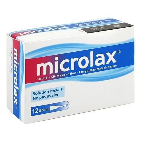 Microlax Rektallösung 12x5 Milliliter