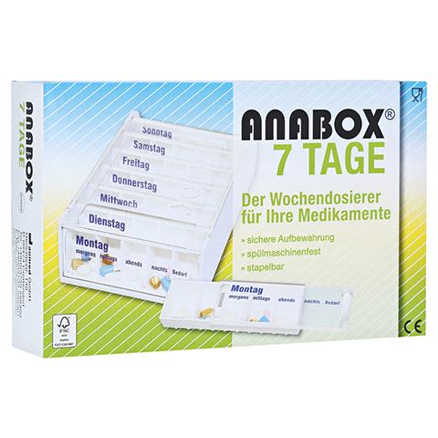 ANABOX 7 Tage Wochendosierer weiß 1 Stück